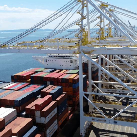 Delta Port STS Crane Install Project
