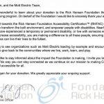 Charity Letter Mott