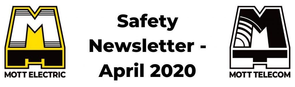 Safety Newsletter for April