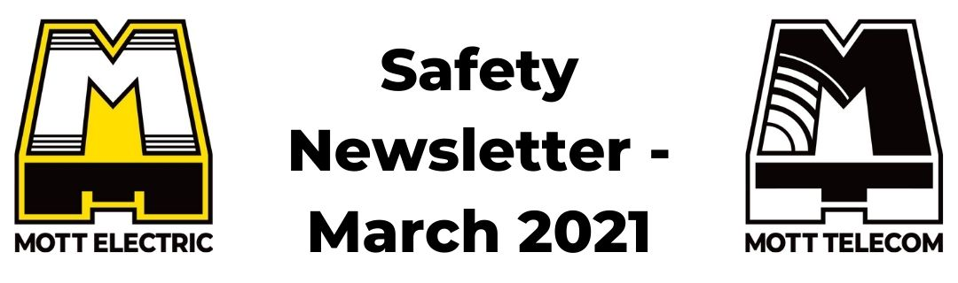 Safety Newsletter for March 2021